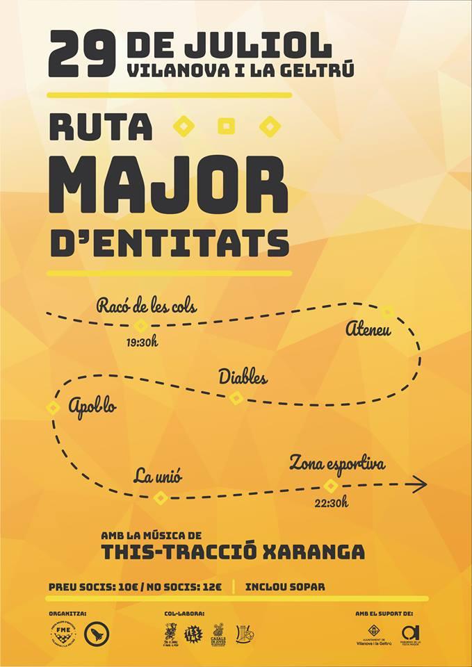 ruta major d'entitats
