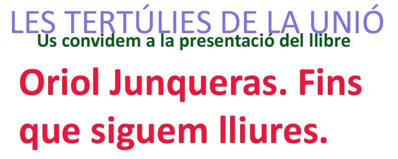 Oriol Junqueras_Fins que siguem lliures